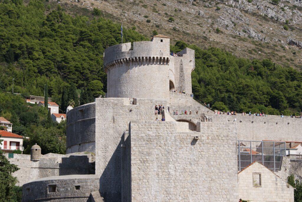 Kamienne Mury obronne w Dubrowniku