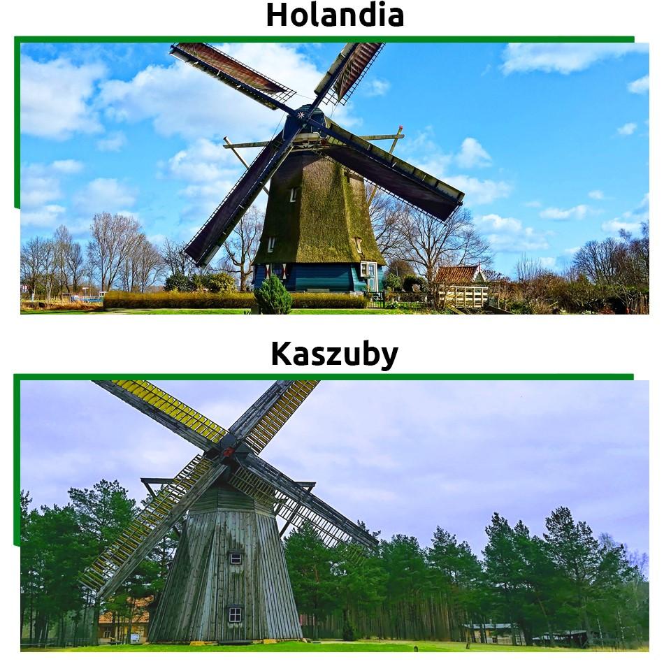 Atrakcje turystyczne w Polsce takie jak wiatraki przybyły do nas z Holandii