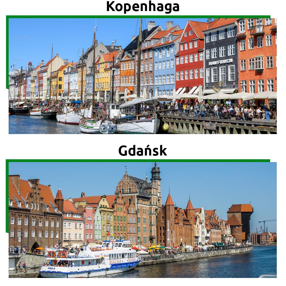 Gdańsk i znajdujące się tu atrakcje turystyczne to jedno z najczęściej odwiedzanych miejsc w Polsce