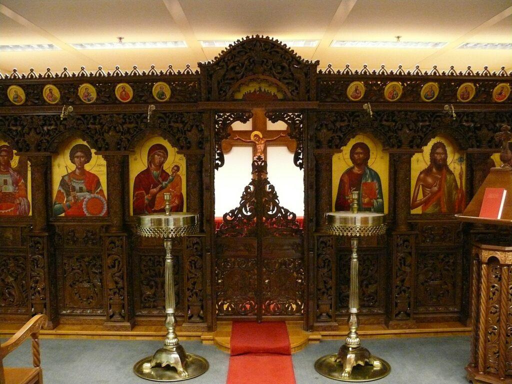 Kaplice lotniskowe na świecie - kaplica prawosławna na lotnisku w Brukseli